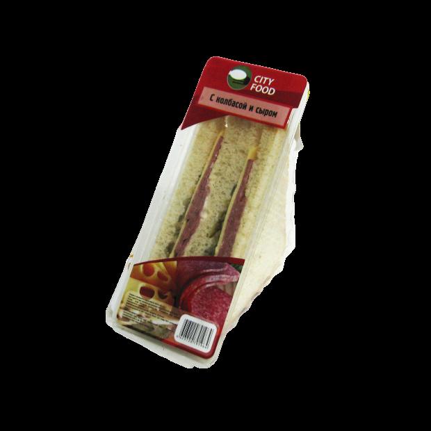 Сэндвичи в треугольной упаковке